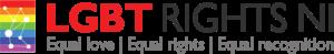 LGBT rights northern Ireland logo